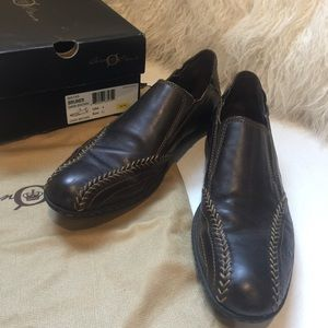 Men's Born Crown Bruner Dark Brown Shoes Size 8